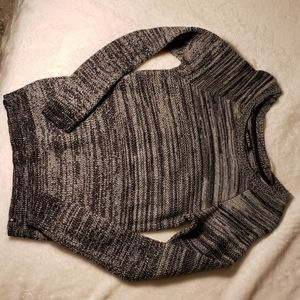 Grey and Black Volcom Sweater